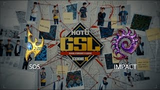 2017 GSL S2 Ro32 Group A Match 1: sOs (P) vs Impact (Z)