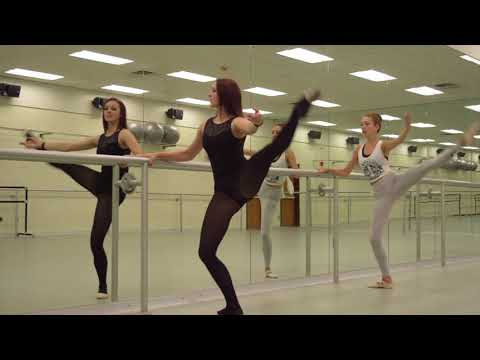 Intermediate Ballet Class: Stay at Home
