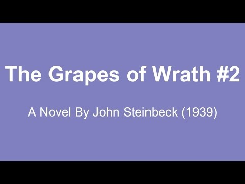 The Grapes of Wrath Audio Books - A Novel By John Steinbeck (1939) #2