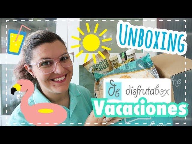 UNBOXING DISFRUTABOX JULIO 2018 | ESPECIAL Haul Verano
