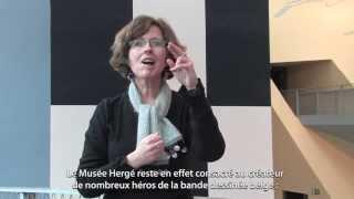 Musée Hergé - Hergé Museum (langue des signes - sign language)