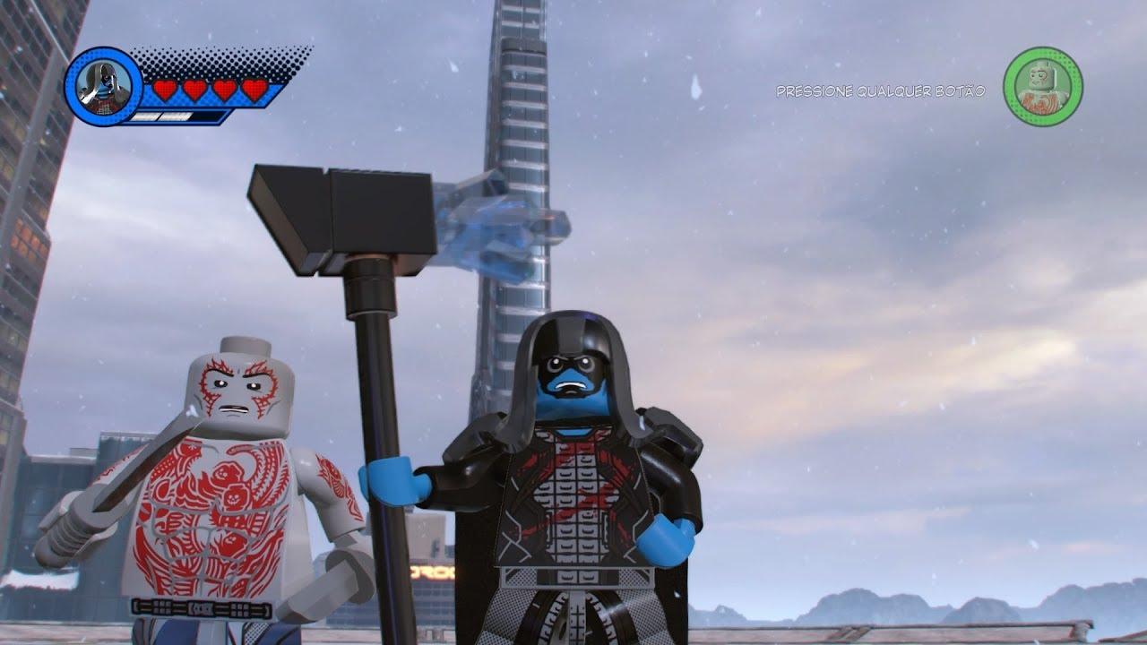 Drax The Destroyer Vs Venom: Drax The Destroyer VS Ronan The Accuser