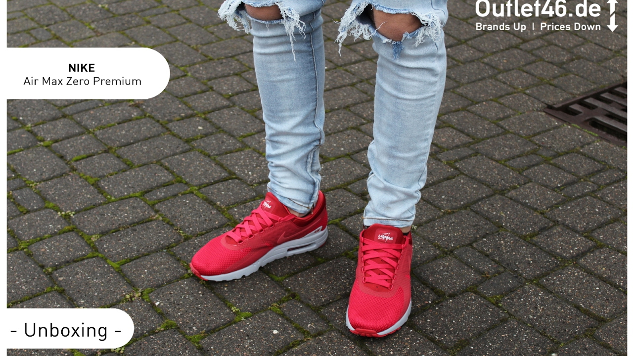 new style 9d1e1 3a8a6 NIKE Air Max Zero DEUTSCH Review l On Feet l Haul l Overview l Outlet46