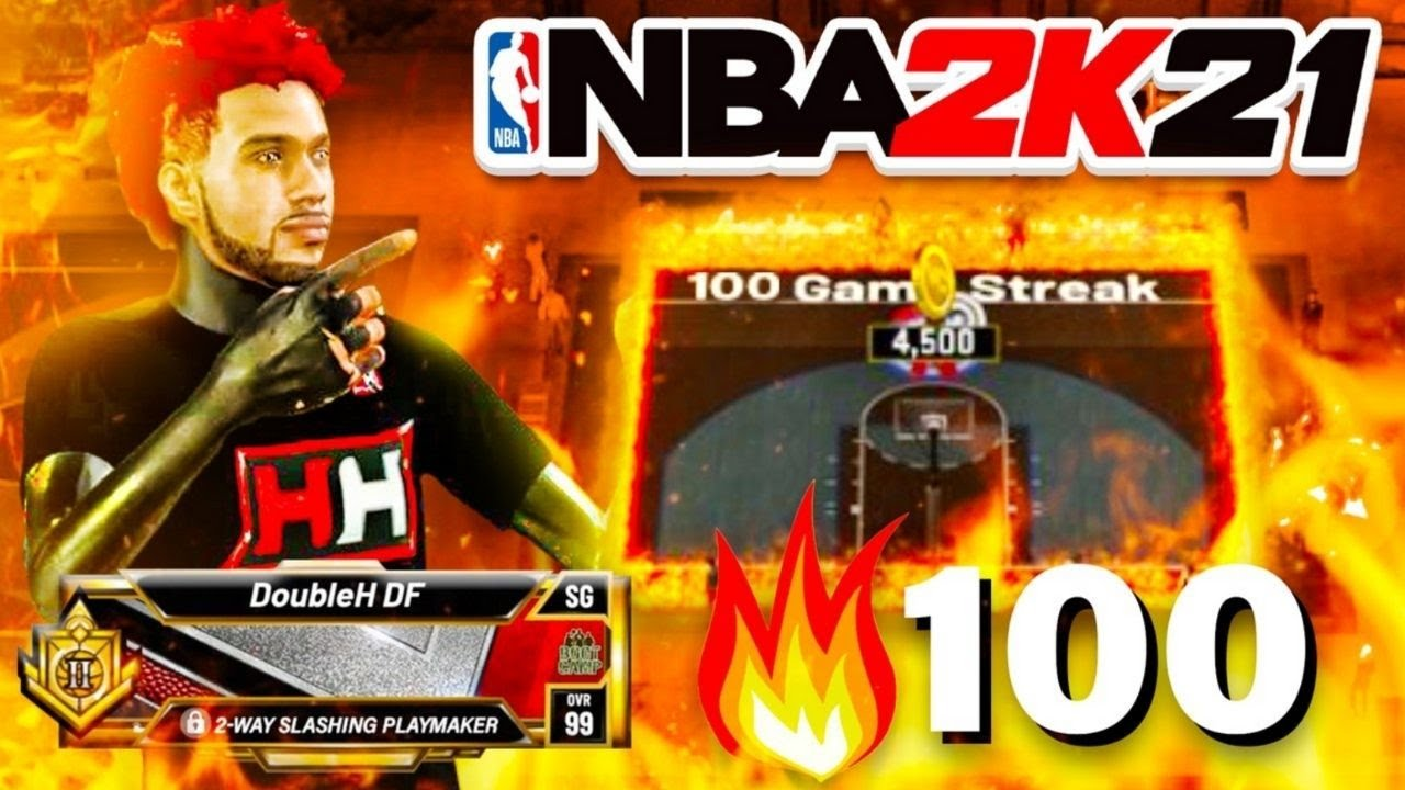 GOING ON A 100 GAME WINSTREAK ON THE 1V1 COURT W/ NEW BEST ISO LOCK BUILD ON NBA2K21 CURRENT GEN!