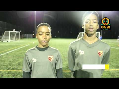 Shaqai and Romari - Watford FC   GNW SUCCESS STORY