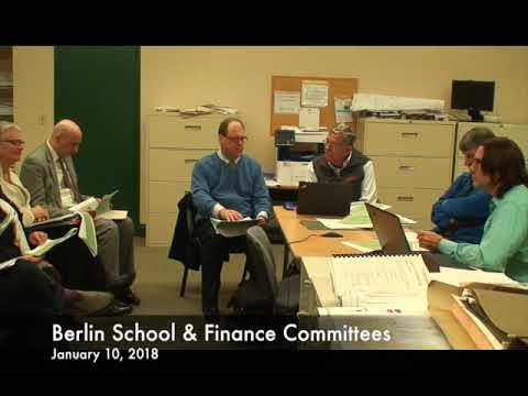 Berlin School & Finance Committee 01.10.18