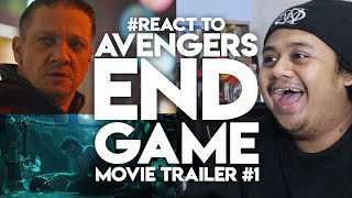 #ZHAFVLOG - DAY 348/365 - #REACT TO AVENGERS ENDGAME MOVIE TRAILER #1 | MALAYSIAN REACTION HONEST