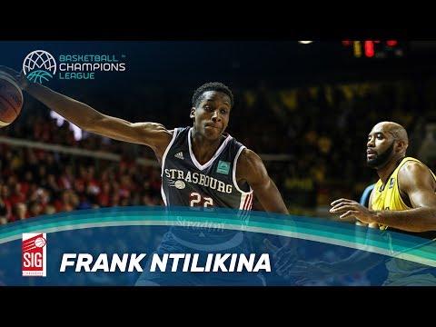 Rising Stars - Frank Ntilikina Highlights - SIG Strasbourg - Basketball Champions League