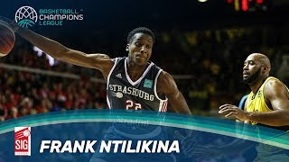 Rising Stars - Frank Ntilikina Highlights - SIG Strasbourg - Basketball Champions League
