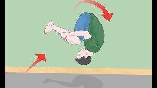 تعلم الشقلبة الخلفية في 12 دقيقة بدون مدرب _ باك فلب Learn Back Flip in 12 Minutes