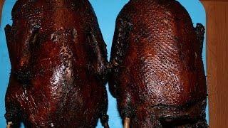 Рецепт утки полу горячего копчения  Шикарная копчёная утка