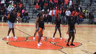 Withrow University High Dynasty Dance Team 2017 Fall Pep Rally