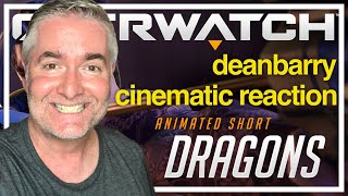 "Overwatch - Animated Short ""Dragons"" REACTION"