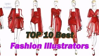 Best Fashion Illustrators | Nfx Fashion Tv