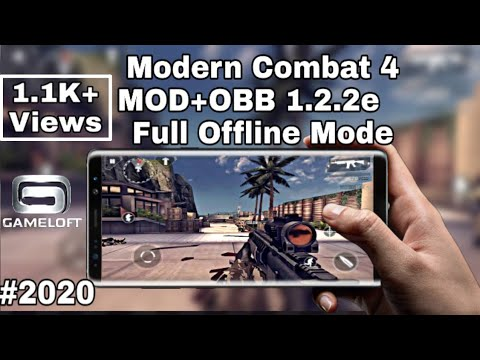 Modern Combat 4 Zero Hour | 1.2.3eApk Mod + Data | Support All Android Devices | Gameloft | #2020