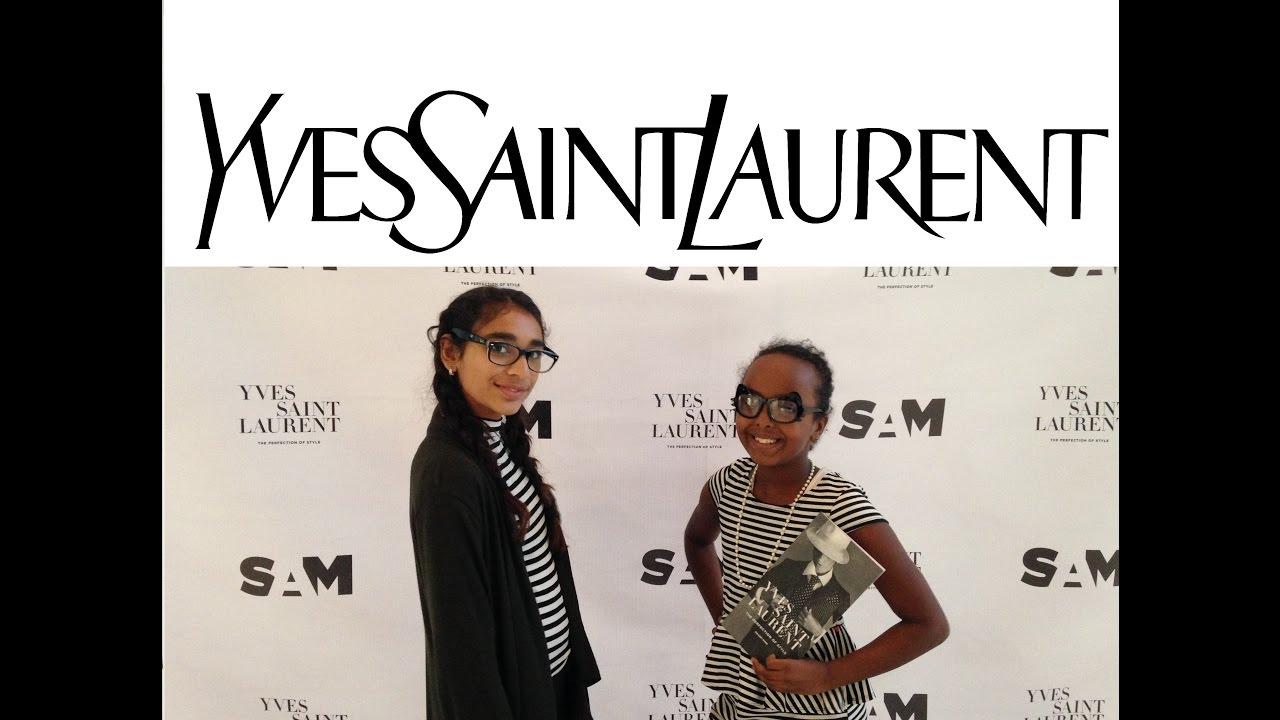 abf6df2d2a0f MGP - Yves Saint Laurent Biography   Exhibit