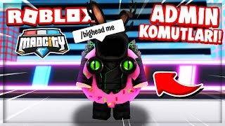 💥 ADMIN COMMANDS AND NEW ROBBERY SITE HAS ARRIVED !! 💥 / Roblox Mad City / Roblox English