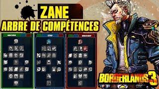 ZANE - Arbre de compétences - BORDERLANDS 3 FR (Présentation + Guide + Analyse)