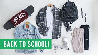 10 STYLISH Back To School Pieces for Every Student  | Men