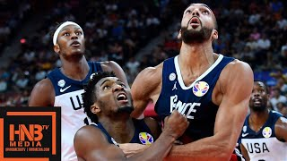 USA vs France - Full Game Highlights | FIBA World Cup 2019