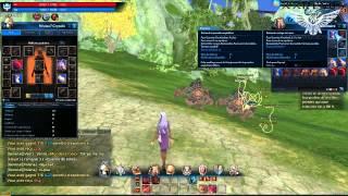 Tera - Gameplay avec Bamako123 - Le début d'une longue (et chiante) aventure !
