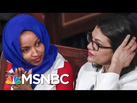 Israel To Block Visit By Reps. Ilhan Omar And Rashida Tlaib After Trump Tweet | Craig Melvin | MSNBC