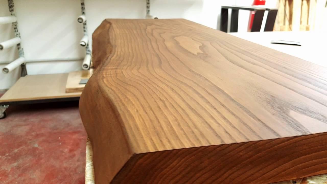 Mensola in legno massello per piano lavabo da bagno Xlab