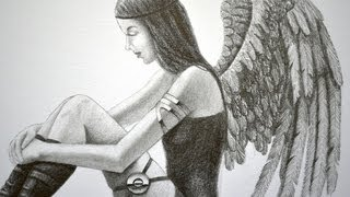 How to Draw an Angel or a Dark Angel - Interactive Video!