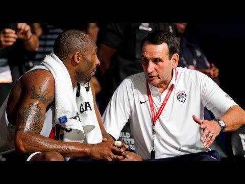 Krzyzewski (Coach K) talks Kobe Bryant