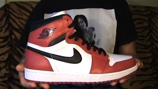 Видео-обзор Air Jordan I (1) Retro High