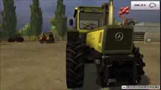 #114 TEST MOD [Full HD] | Tracteur MB Trac 1600 Turbo V3.0 !!!