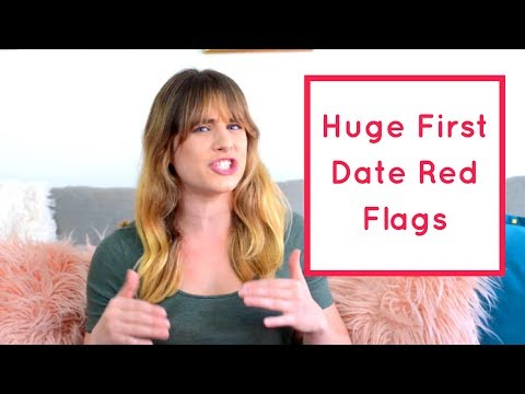5 Huge First Date Red Flags