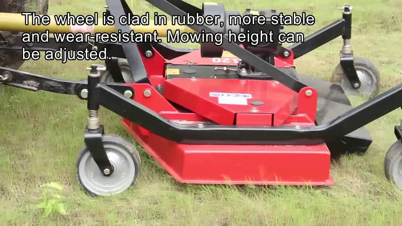 Finishing mower