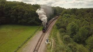 Bluebell Railway - Drone Shots (test #1)