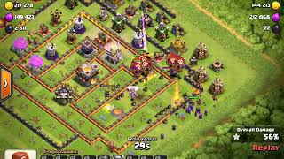 Clash of Clans // TH11 Trophy Pushing Base 2018 anti 3star/anti 2 star  defence log