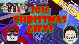 Roblox - Lumber Tycoon 2 - 2016 Christmas Gifts are out!