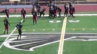 Kamron Scott  #11 Highland Bulldogs Midget 2014 Qb And Fs