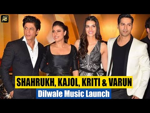 Dilwale  Trailer & Music Launch 2015 (HD)  | Shahrukh Khan, Kajol, Varun Dhawan, Kriti Sanon