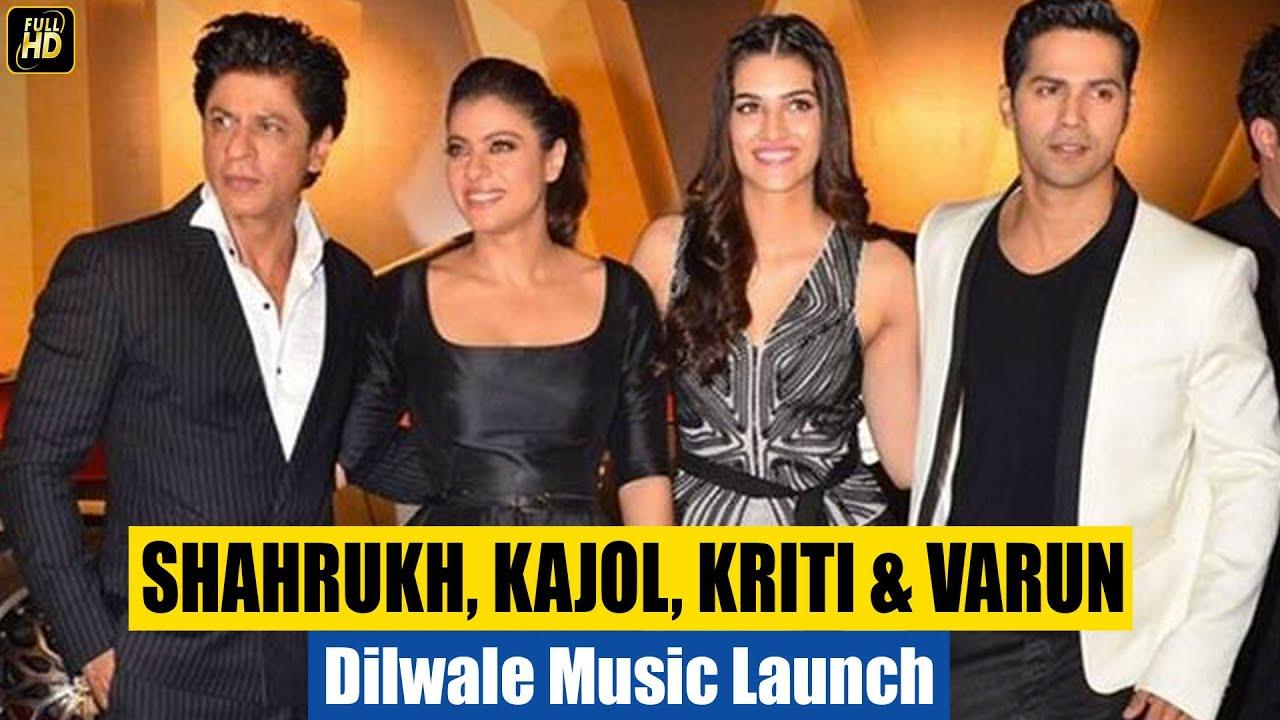 Dilwale Trailer Music Launch 2015 Hd Shahrukh Khan Kajol