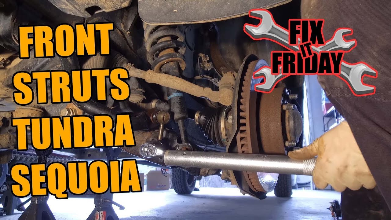 2006-2017 Toyota Tundra Front Strut Replacement