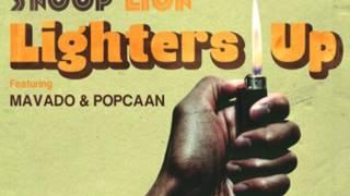 Snoop Lion Ft  Mavado & Popcaan  Lighters Up (Instrumental) WITH HOOK!!