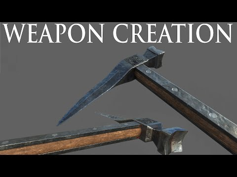 Skyblivion DEV Stream - Weapon Creation By ZunaIceBear(liking the stream is appreciated)