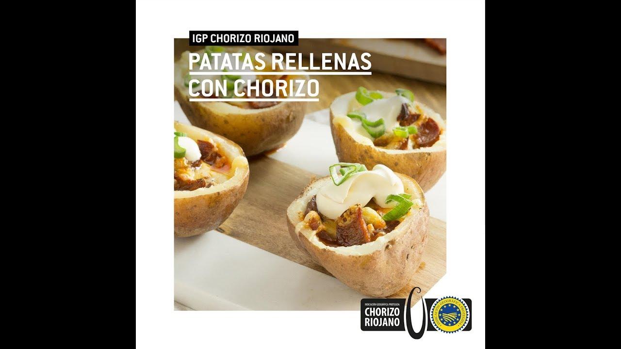 Patata Porner patatas rellenas con chorizo riojano | igp
