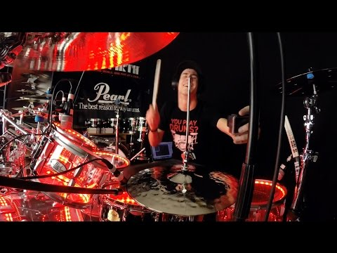 Pop Danthology 2014 - Drum Cover - Drumming with 1 Hand!