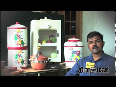 natural refrigerator invented in kovai dinamalar youtube. Black Bedroom Furniture Sets. Home Design Ideas