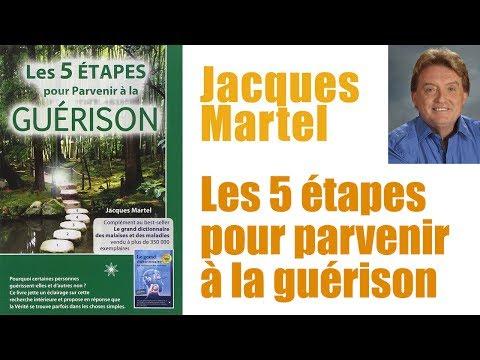 Jacques Martel - Les 5 étapes pour parvenir à la guérison