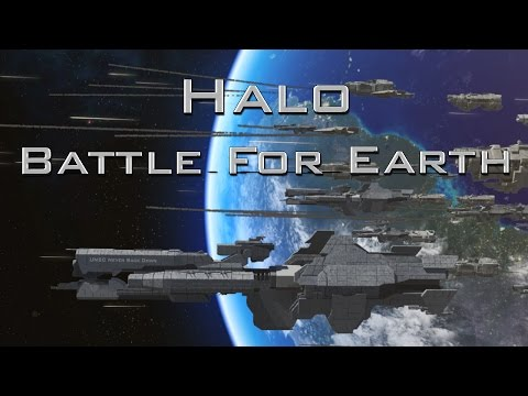 Halo: Final battle for Earth (Epic CGI space battle)