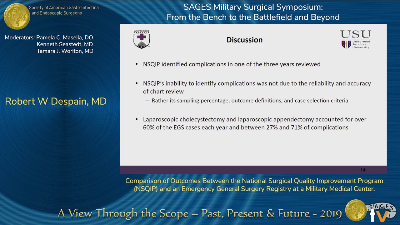 Comparison of Outcomes Between the National Surgical Quality Improvement Program… #Generalsurgery