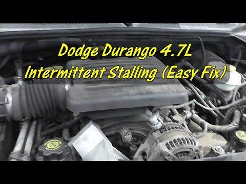 "Intermittent Stalling 2003 Dodge Durango 4.7L ""Don't Overlook The Basics"""