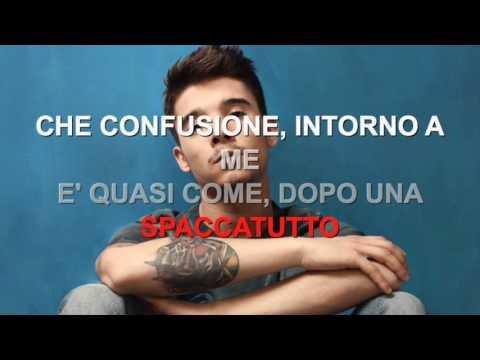 Moreno - Che confusione - Karaoke con testo